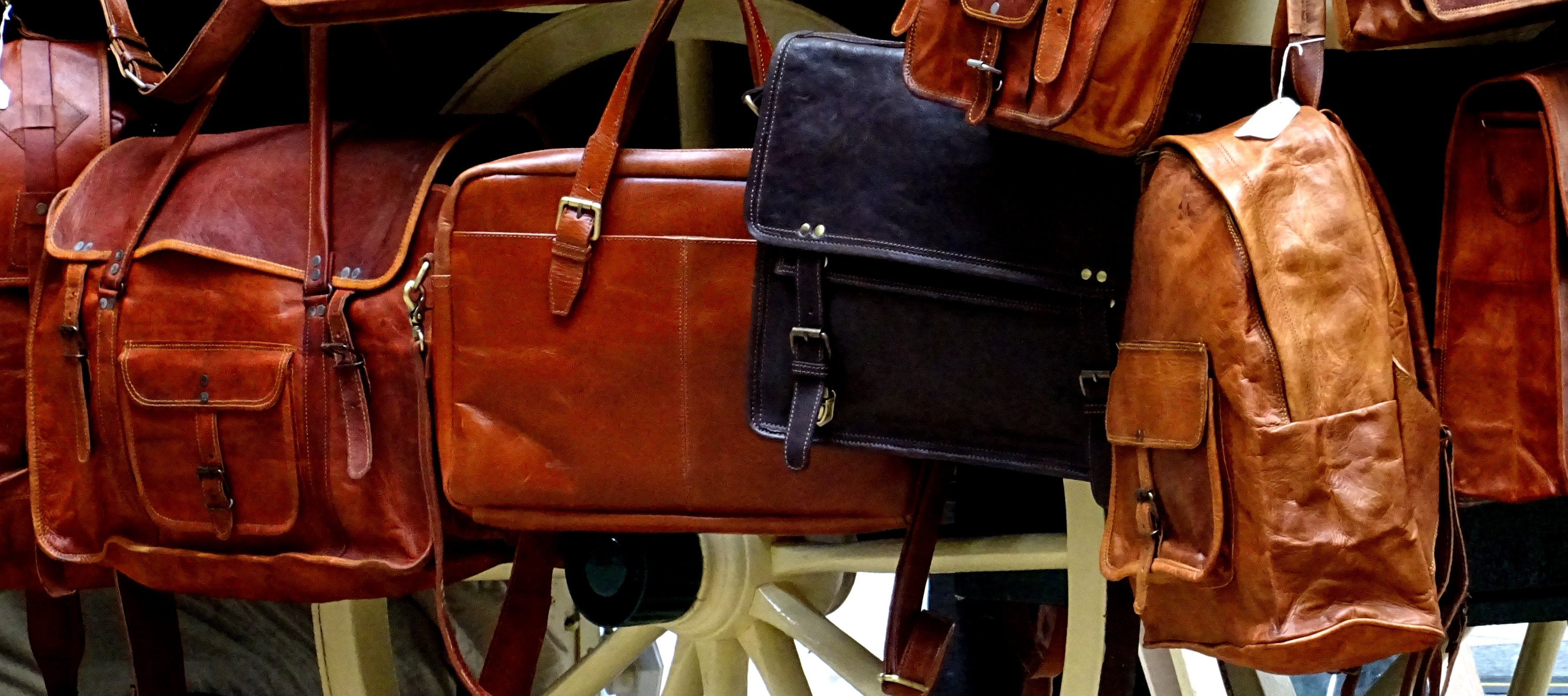 Leather Handbags Cropped