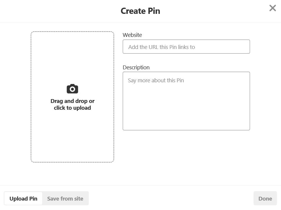 Pinterest Tutorial Pin Creation Upload INfo